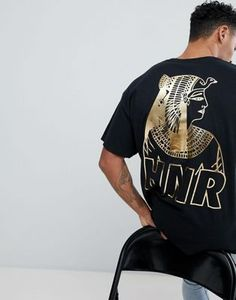 HNR LDN Oversized Pharoah Back Print T-Shirt