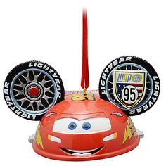 Limited Edition Ear Hat Lightning McQueen Ornament