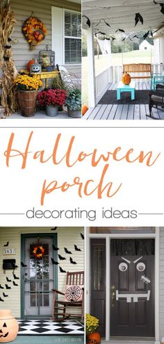 Top 23 Halloween Front Porch Ideas on the Internet Front porches