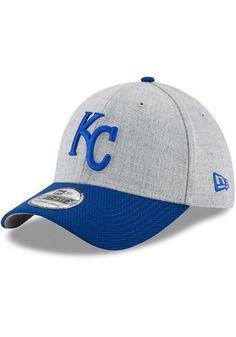 New Era Kansas City Royals Mens Grey Change Up Redux 39THIRTY Flex Hat