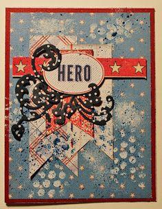 Scrapbook Flair: American Hero-Cardabilities Sketch #125