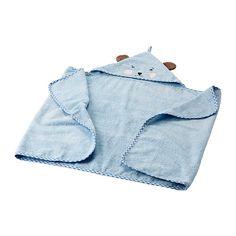 БАДЕТ Полотенце с капюшоном  - IKEA