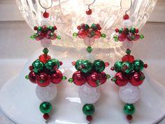 traditional colors christmas dangle ornaments