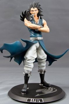 Fairy Tail Gajeel from Fairy Tail - anime figure Natsu Fairy Tail, Fairy Tail Levy, Fairy Tail Anime, Nalu, Fairytail, Fairy Tail Figures, 3d Figures, Action Figures, Figura Iron Man