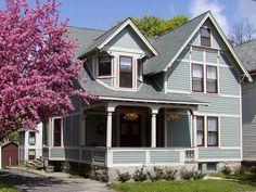 cape cod house architecture blue prints | Best Gray Paints For Home