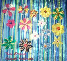 #Summer #kanzashi: #ideas for your #wedding or  #gifts Kanzashi #estivi :#idee per il vostro #matrimonio o per i vostri #regali. #estate è arrivata Fioridoriente #handmade #flowers #fiori #fleur #flores #geisha #maiko #kimono #kanzashi #fashion #fioridoriente #moda #look #fattoamano #Happy #giappone #me #jewels #Japan #fashionable