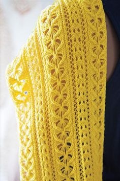 Bees And Honeybees Stole - Knitting Patterns and Crochet Patterns from KnitPicks.com