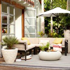 West Elm Montauk Sectional Patio Furniture...driftwood Grey Finish |  Gardening U0026 Outdoors | Pinterest | Sectional Patio Furniture, Driftwood And  Patios