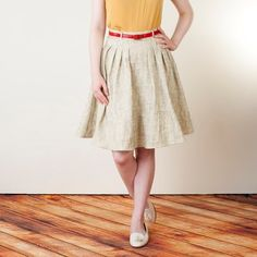 Zinnia Skirt: Colette Patterns: Beginner Sewing and Dressmaking.