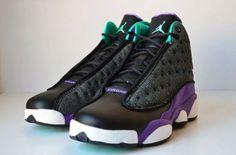 cheap for discount 13fe9 736e5 Air Jordan 13 Retro GS - Black Atomic Teal-Ultraviolet Read more  http