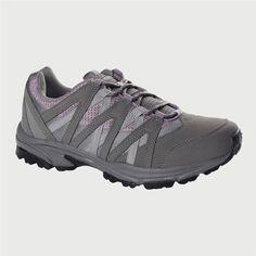 0176863558bc43 Hi-tec Women s Grey Pink Langdale Sport Hiking Shoe