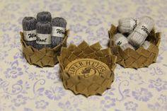 Lakeudentie 20: Lankakoreja Baskets with wool balls