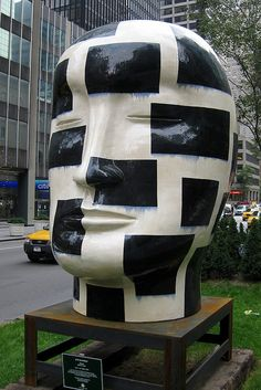 NYC: Jun Kaneko's Heads