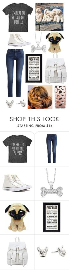 """""""Dog lover"""" by bobsherwood ❤ liked on Polyvore featuring Calvin Klein, Converse, Allurez and Casetify"""
