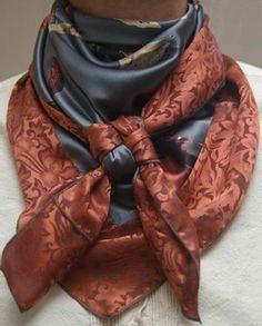 46dca50127af Mille façons d être belle ou comment porter un foulard - Archzine.fr