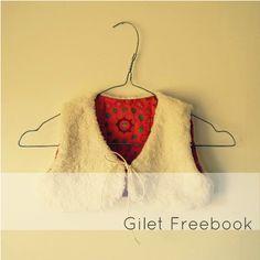 Gilet freebook tutorial on http://www.kluntjebunt.at/2013/10/mein-erstes-freebook.html