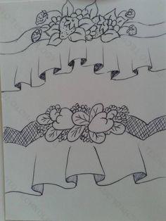 L&C Artesanatos: Desenhos para barrados inteligentes ou falso barrado…
