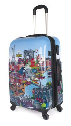 1000 Images About Fun Suitcases On Pinterest Painted
