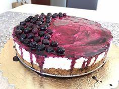 Áfonyás sajttorta Tiramisu, Cheesecake, Snacks, Cookies, Baking, Ethnic Recipes, Food, Diet, Cheesecake Cake