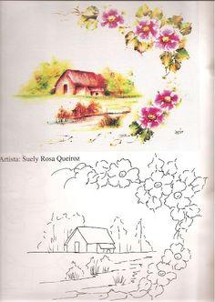 Coleção Pintura Tecido Nº 9 - Marci - Álbuns da web do Picasa