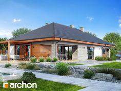 projekt Dom w modrzewnicy 2 (G2A) dodatkowa wizualizacja