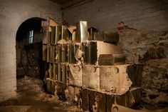 Fallout shelter supplies found in hospital basement; Taunton State Hospital