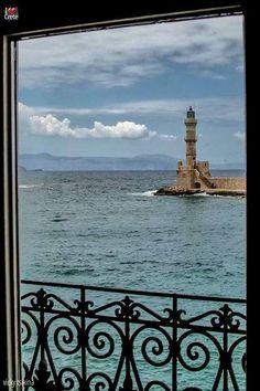 Chania lighthouse ~ Crete