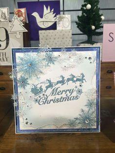 Chloe's Christmas stamps 2016