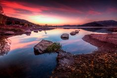 Sunrise At Salagou - Salagou's Lake,  Hérault, Languedoc Roussillon, South France