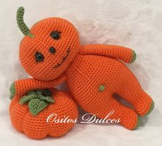 Halloween Crochet Patterns, Crochet Patterns Amigurumi, Amigurumi Doll, Crochet Hooks, Crochet Pumpkin, Crochet Fall, Free Crochet, Halloween Toys, Knitting For Beginners