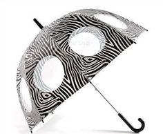 Lindy Lou Zebra Umbrella - Viola #Umbrella.