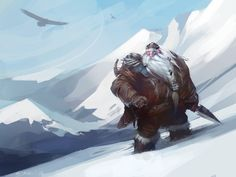 Snowy Slopes by *Mr--Jack on deviantART