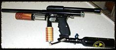 CCI Phantom  Dad made me the grip and pump handle