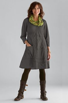 Gwen Linen Dress: Cynthia Ashby: Linen Dress - Artful Home