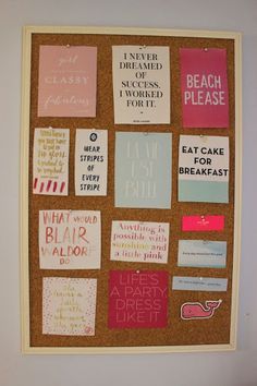 Preppy by the Sea: The Pinterest Perfect Bulletin Board