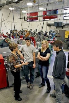 Working so that others can: Silk points students to careers #Manufacturing #SkillsGap #MEP #STEM