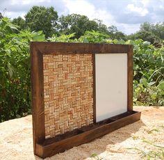Pallet White Board, Mail Organizer | Pallet Furniture DIY