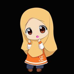 Chibi Muslimah 1 by Owl Cartoon, Cartoon Images, Cute Cartoon, Disney Wallpaper, Cartoon Wallpaper, Iphone Wallpaper, Cool And Funny Wallpapers, Wallpaper Mobile Legends, Latest Cartoons