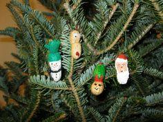 Peanut Ornaments
