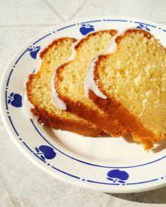 Le cake au citron / mascarpone glaçage citron (Christophe Felder)