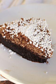 Sweet and Simple No Bake Desserts, Dessert Recipes, Kolaci I Torte, Chocolate Fondant, Kom Ihåg, A Food, Deserts, Brownies, Desserts