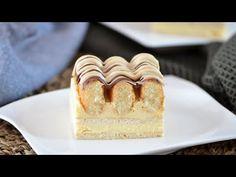 Torta bez rúry. Vyrobené z dvoch druhov sušienok. - YouTube Four, Cheesecake, Oven, Dessert Recipes, Youtube, Crack Crackers, Watermelon, Cookies, Sweets