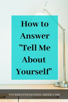 "Remember that your objective while answering the question ""Tell me about yourself"" is to connect yourself to the position. Know before you walk into the interview the important skills and qualifications that they are looking for so that you can craft a strong answer to the question. #jobinterview #tellmeaboutyourself"