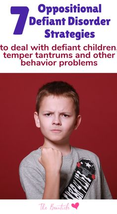 Parenting strategies to help with defiant toddler, defiant children and kids with ODD. These oppositional defiant disorder strategies will help moms with temper tantrums, ADHD and other behavior problems. - Kids education and learning acts Oppositional Defiant Disorder Strategies, Oppositional Behavior, Odd Disorder, Disorders, Defiance Disorder, Difficult Children, Children With Adhd, Unruly Children, Children Health