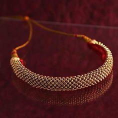 Thushi - Traditional Maharashtrian jewellery Gold Jhumka Earrings, Indian Earrings, Indian Jewelry, Maharashtrian Jewellery, Rajputi Jewellery, Traditional Indian Jewellery, Cute Jewelry, Gold Jewelry, Imitation Jewelry