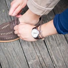 Owner's pics :camera:: @chanmanshop with their Portsea Calendar, plus a pair of comfy @baredfootwearmens loafers.  #melbournewatch #watches #wruw
