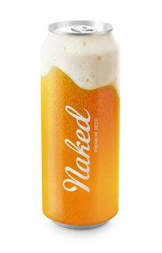 Naked beer.