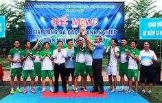 Bế mạc giải bóng đá các Doanh nghiệp tỉnh Ninh Thuận 2017 Basketball Court, Mac, Poppy