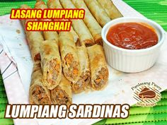 If you are searching for a very cheap filling to make your lumpiang shanghai, I think this recipe is what you are looking for. Specially now that we are staying Filipino Food, Filipino Recipes, M&m Recipe, Pinoy, Tasty Dishes, Fresh Rolls, Fish Recipes, Shanghai, Searching