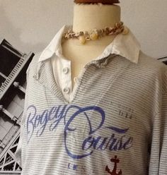 SCOTCH ** Maritimes Double Layer Poloshirt - Verkäufer: *onlyprettythings*